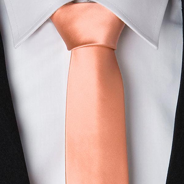 Svatební kravaty jednobarevné