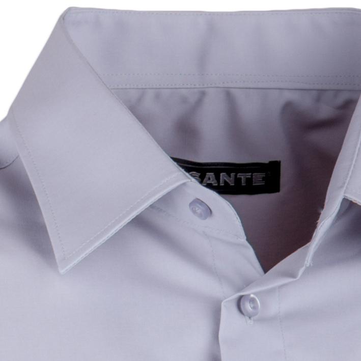 Šedá nadměrná košile