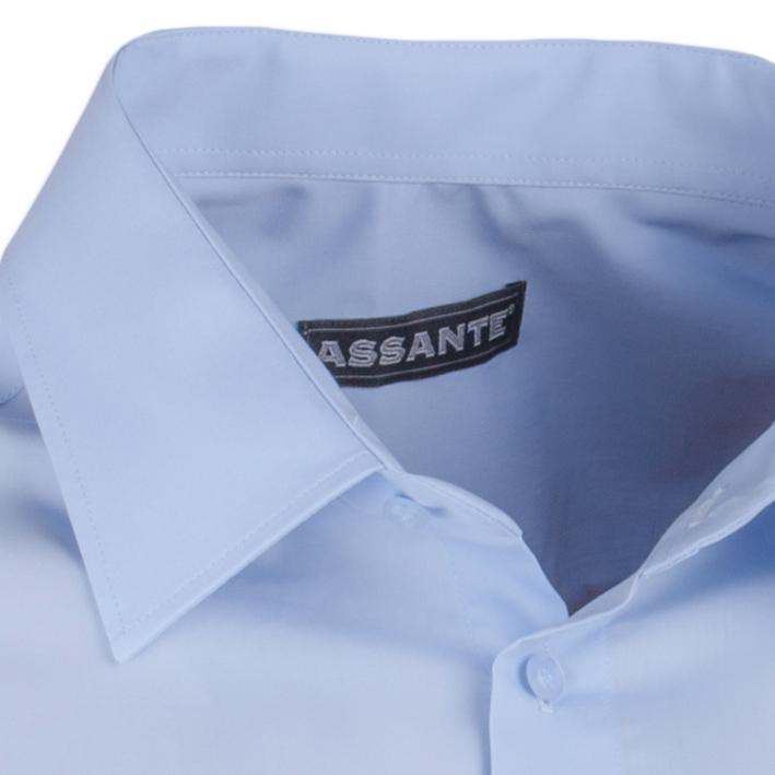 Modrá nadměrná košile