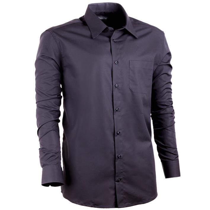 Nadměrná pánská košile černá ... 88d9dce44c