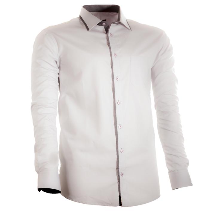 Nadměrná pánská košile šedá
