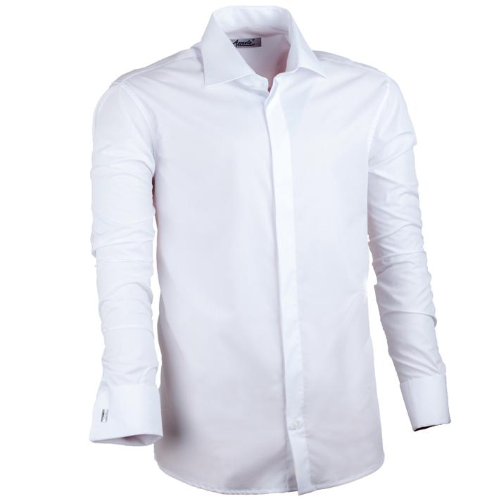 Nadměrná pánská košile bílá