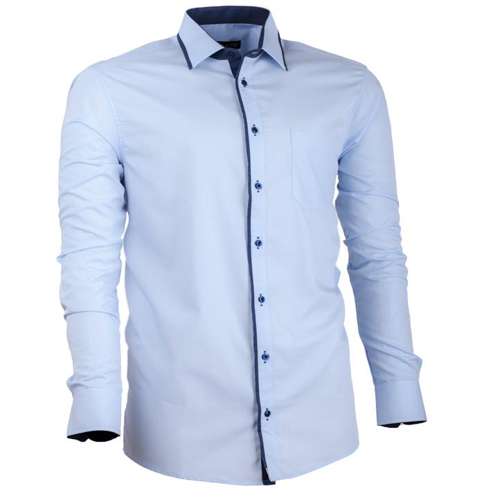 Nadměrná pánská košile modrá
