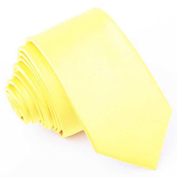 kravata žlutá