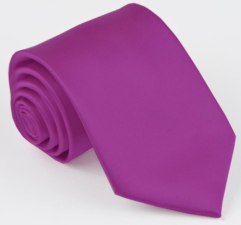 kravata fialová.