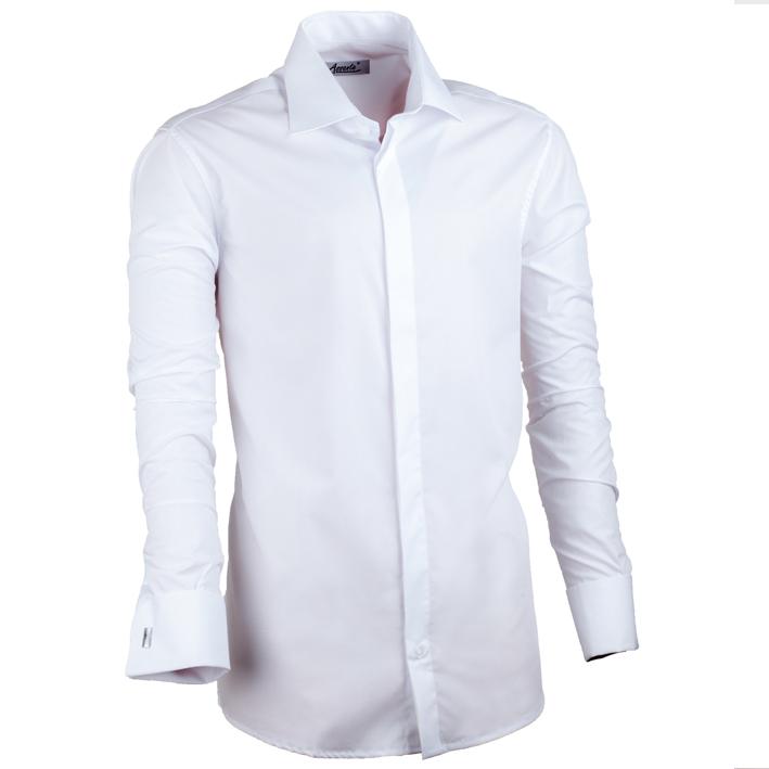 Bílá košile na manžetový knoflíček