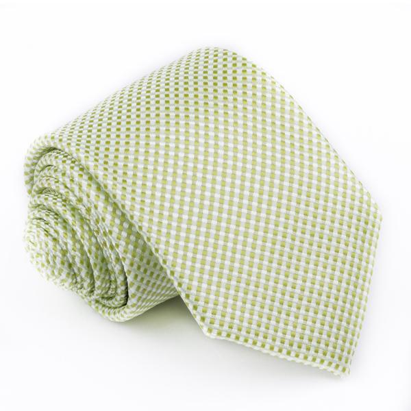 zelená kravata světlá